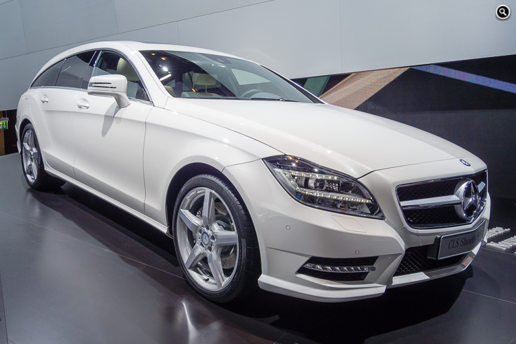 Mercedes-Benz CLS Shooting Brake, Mondial de l'Automobile, Paris, 2012